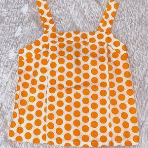 gymboree orange polka dot tank Sunshine Daydream 7